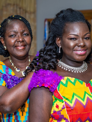 Ghanaian Mother and Bride