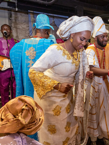 Nigerian Togoleses Bride and Groom