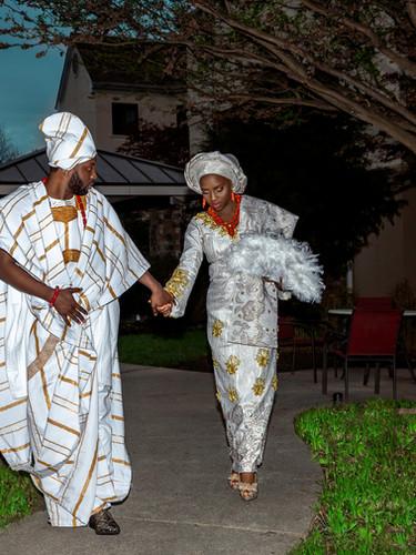 Togolese Bride Nigerian Groom
