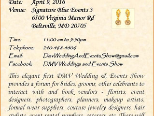 The DMV Wedding & Events Show