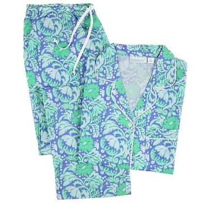 Valerie Cotton Voile Classic Long Sleeve Pajamas