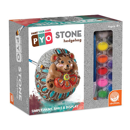 Paint Your Own Stone Hedgehog
