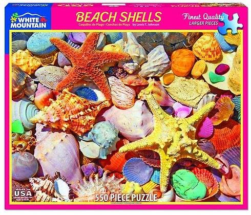 Beach Shells 550pc Jigsaw Puzzle