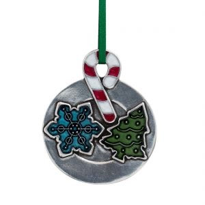 Christmas Cookie Ornament from Danforth Pewter