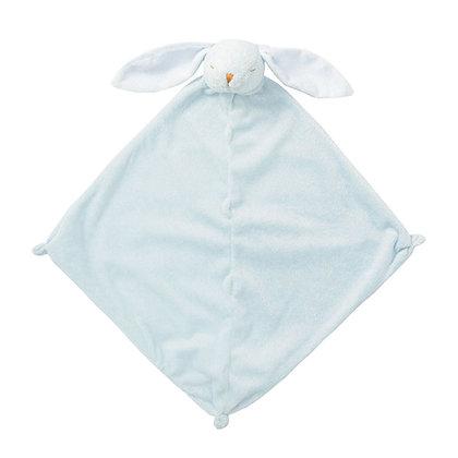 Blue Bunny Lovey Blankie
