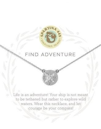 Sea La Vie Find Adventure Necklace