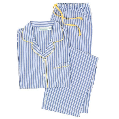 Watson Cotton Classic Long Sleeve Pajamas