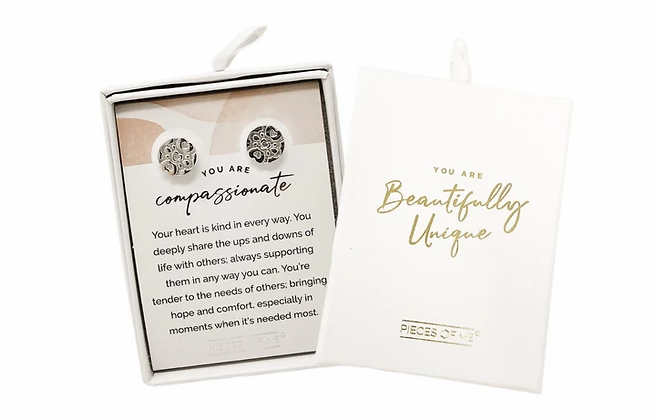 Compassionate Earrings Silver