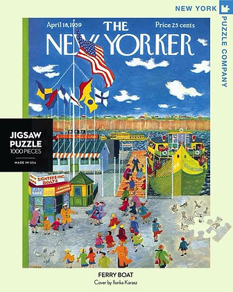 Ferry Boat 1000pc Jigsaw Puzzle