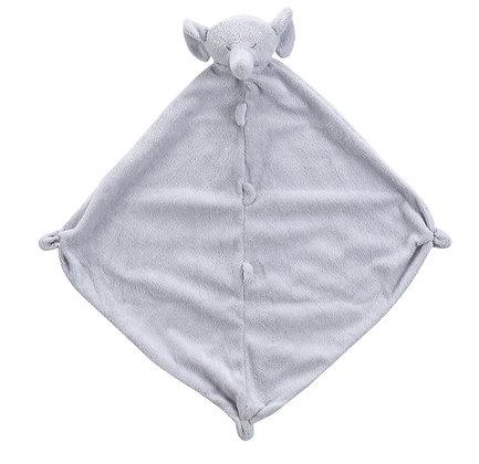 Grey Elephant Lovey Blankie