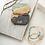 Thumbnail: Delicate Stone Wrap Howlite/Rose Gold