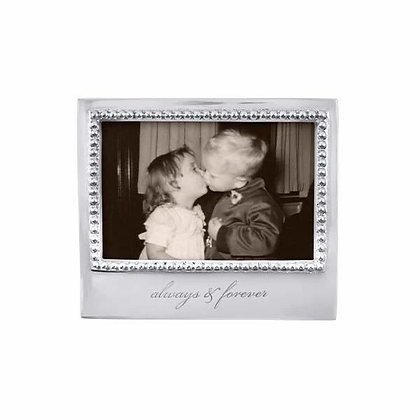 Always and Forever Beaded 4x6 Frame