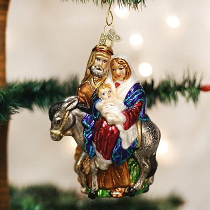 Flight to Egypt Ornament from Old World Christmas