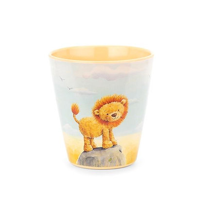 Melamine Very Brave Lion Cup