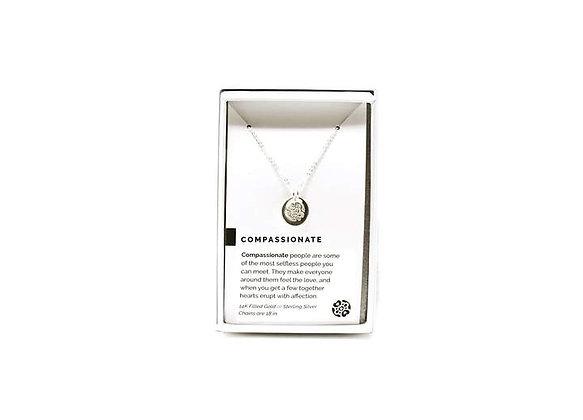 Compassionate Necklace Silver