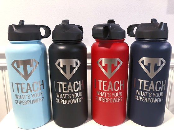 Engraved Insulated Water Bottle