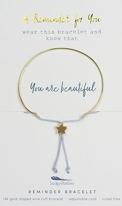 You are Beautiful Reminder Bracelet