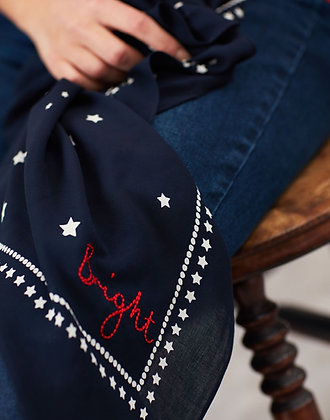 Tiewell Square Star Neckerchief