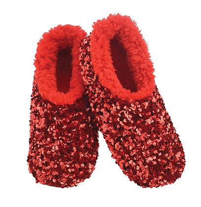 Red Bling Snoozies