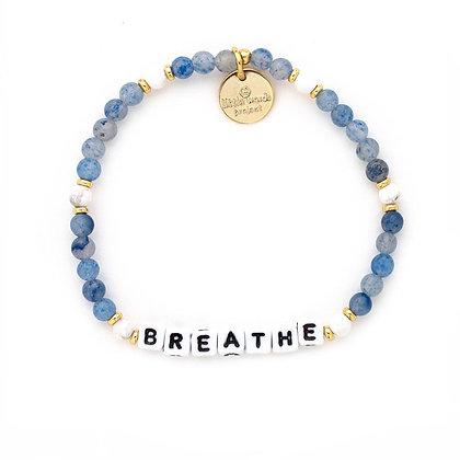 Breathe Bracelet -- Bluestone