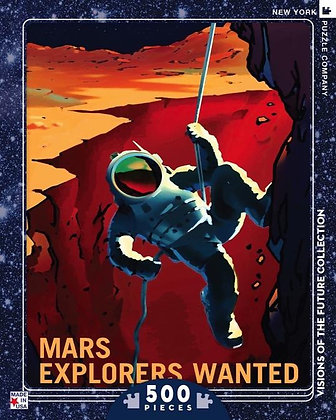 Mars Explorers Wanted 500pc Jigsaw Puzzle