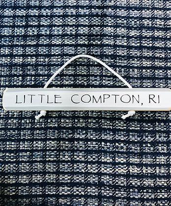 Little Compton, RI Sign