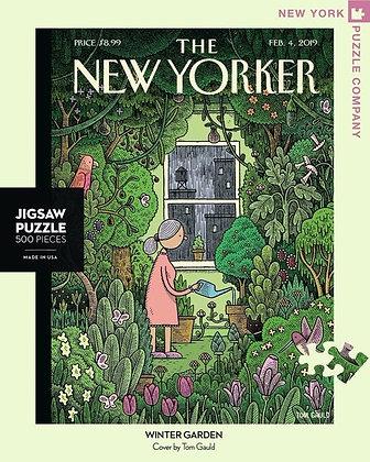 Winter Garden 500pc Jigsaw Puzzle