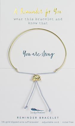 You are Strong Reminder Bracelet