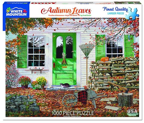 Autumn Leaves 1000pc Jigsaw Puzzle