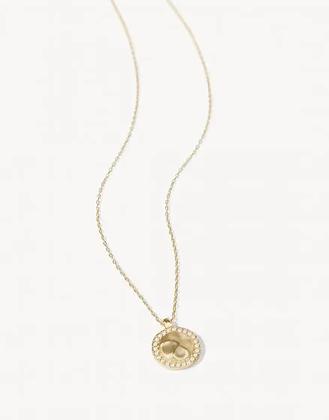 Aura Necklace White Opal