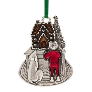 Sweet Anticipation 2017 Annual Ornament from Danforth Pewter