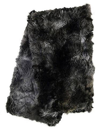 Faux Fur Fingerless/Texting Gloves in Highland in Skye