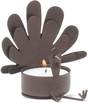 Sitting Turkey Tealight Holder from Tag