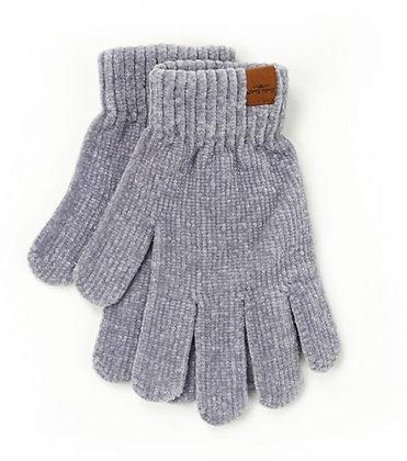 Grey Beyond Soft Chenille Gloves