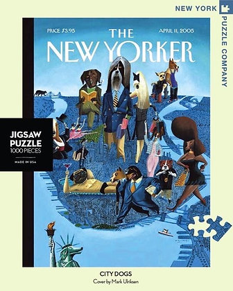 City Dogs 1000pc Jigsaw Puzzle