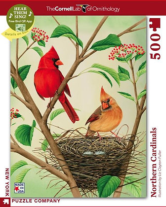 Northern Cardinals 500pc Jigsaw Puzzle