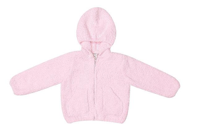 Pink Chenille Hoodie
