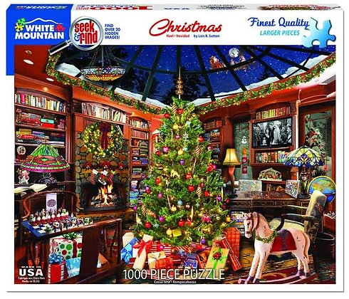 Christmas Seek & Find Puzzle--1000pc
