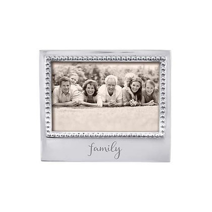 Family Beaded 4x6 Frame