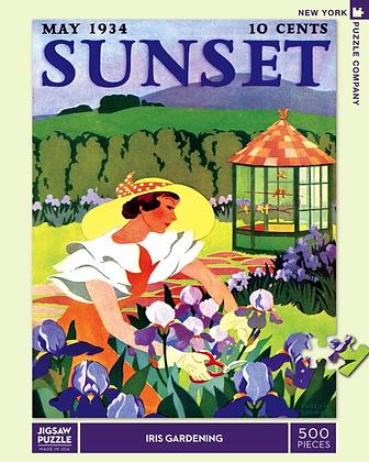 Iris Gardening 500pc Jigsaw Puzzle