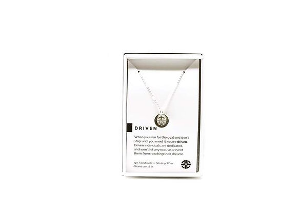 Driven Necklace Silver