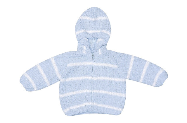Blue/Ivory Chenille Hoodie