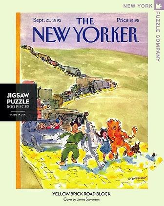 Yellow Brick Road Block 500pc Jigsaw Puzzle