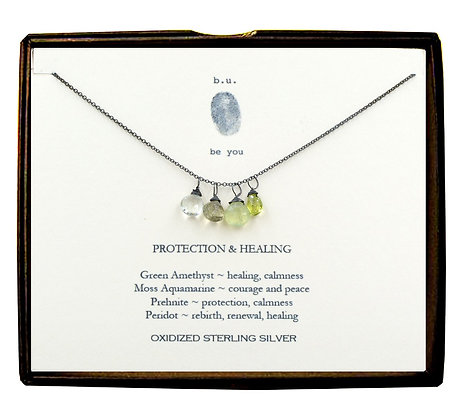 Protection & Healing Necklace