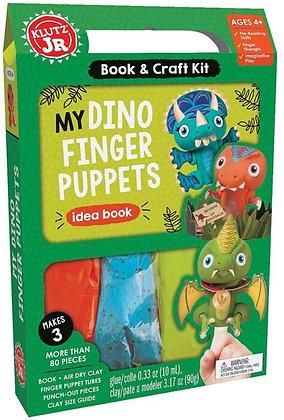 Klutz Jr: My Dino Finger Puppets