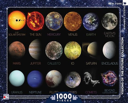 The Solar System 1000pc Jigsaw Puzzle
