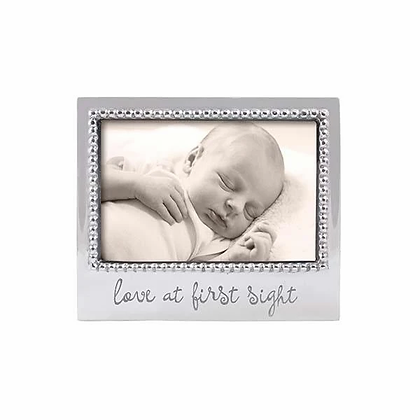 Love at First Sight Beaded 4x6 Frame