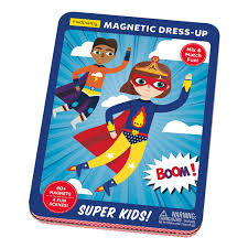 Super Kids Magnetic Built-It Tin