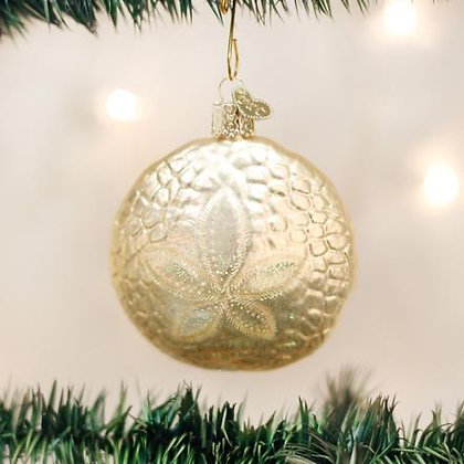 Sand Dollar Ornament from Old World Christmas