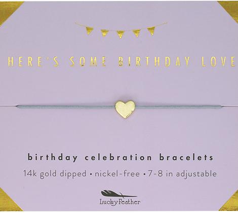 Here's Some Birthday Love Bracelet